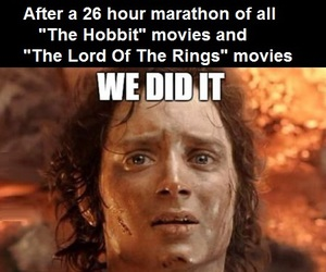 LOTR, middle earth, and the hobbit image
