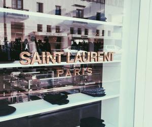 fashion, saint laurent, and paris image