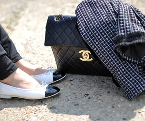bags, cute, and chanel image