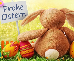 und, frohe ostern, and 🐰 image