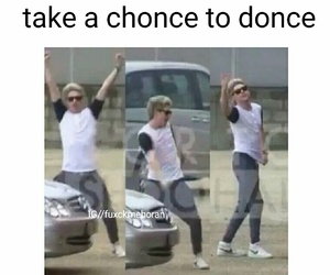 dance, louis tomlinson, and one direction image