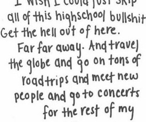 qoute, school, and travel image