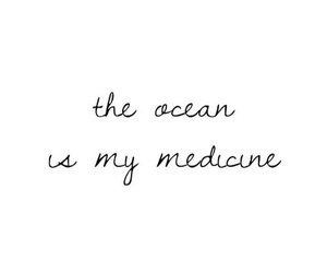 ocean, quotes, and aesthetic image