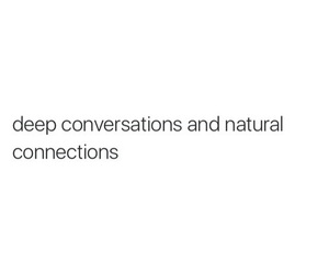 quotes, conversation, and deep image