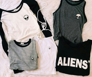alien, black, and clothes image
