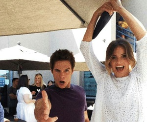 dylan sprayberry, shelley hennig, and teen wolf image