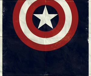 captain america, Marvel, and poster image