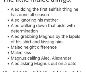 alec lightwood, shadowhunters, and malec image