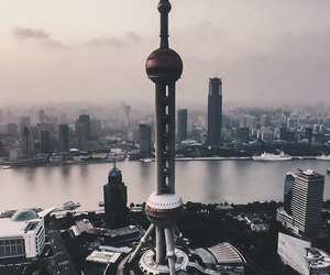 city and shanghai image