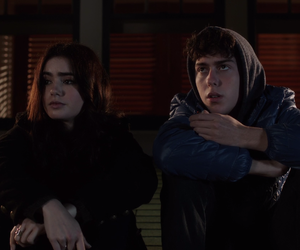 movie, lily collins, and nat wolff image