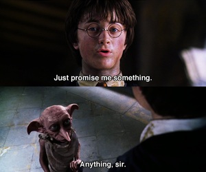 chamber of secrets, harry potter, and dobby image
