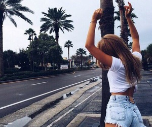 girl, summer, and outfit image