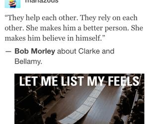 the 100, bob morley, and bellamy blake image