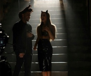 ariana grande, love me harder, and the weeknd image