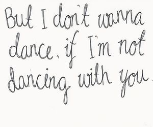 quote, love, and dance image