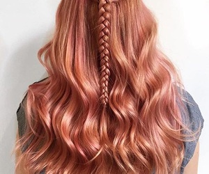awesome, braid, and color image