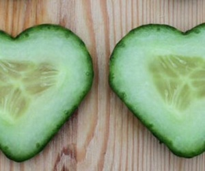 food, heart, and healthy image