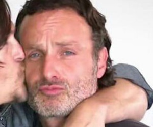 icon, the walking dead, and rick grimes image