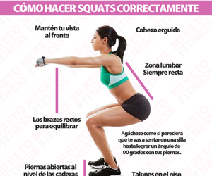 fitness and squats image