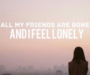 alone, bad girl, and frase image