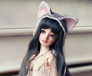 bjd, cat, and cool image