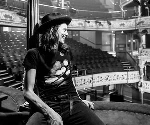 black and white and james bay image