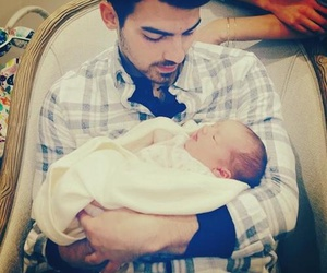 Joe Jonas, jonas, and baby image