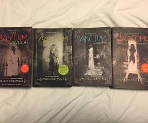 asylum, book, and books image