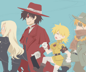 anime, chibi, and hellsing image