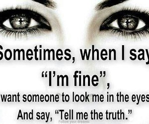 quote, eyes, and truth image