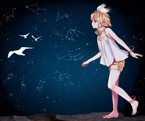 anime, vocaloid, and stars image