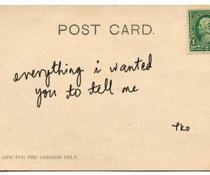 postcard, quotes, and love image