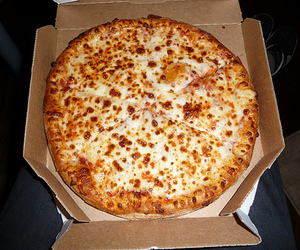 photography, pizza, and food image