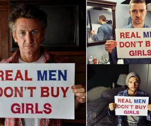 real men, justin timberlake, and ashton kutcher image