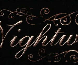 Logo, metal, and nightwish image