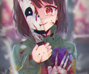 undertale, chara, and anime image