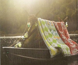boat, hippie, and vacation image
