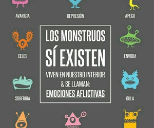 monsters, frases, and emociones image