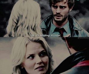 Jamie Dornan, once upon a time, and emma swan image