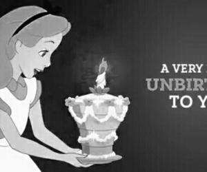 alice, disney, and unbirthday image