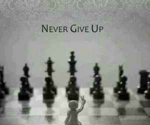 never, chess, and never give up image