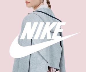 nike, pink, and pastel image