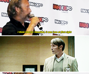 danish, hannibal lecter, and handsome image