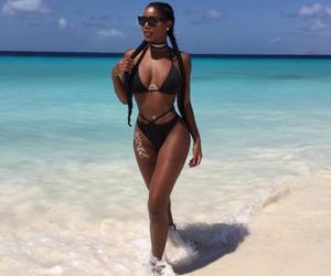 girl, body, and beach image