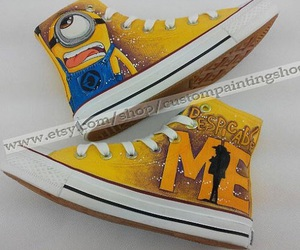 minions, fashion, and shoes image