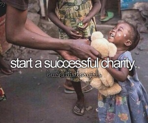 bucket list, charity, and success image