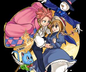 nalu, fairy tail, and natsu image