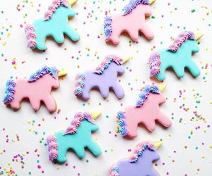 unicorn, cute, and Cookies image