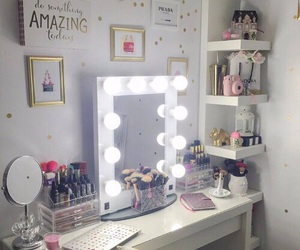 makeup, decor, and ideas image