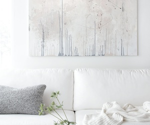 white, interior, and decor image